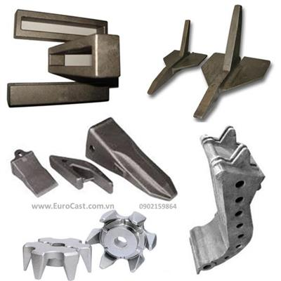 Investment casting of agriculture machine parts