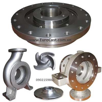 Investment casting of pump parts