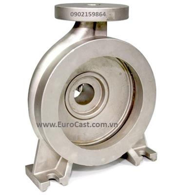 Investment casting of pump body part