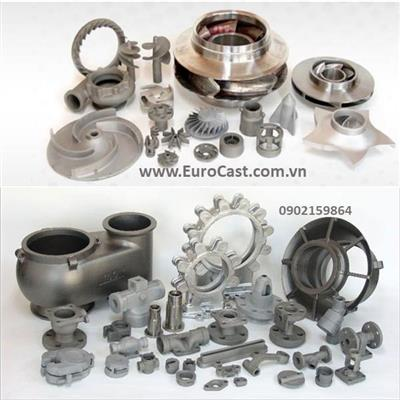 Investment casting of pump components