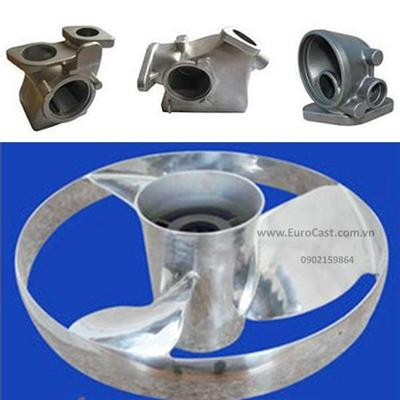 Investment casting of ship components