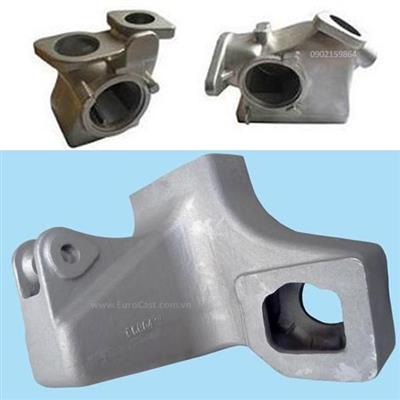 Investment casting of automotive intake manifolds