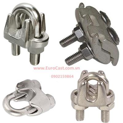 Investment casting of steel wire rope terminals & hook