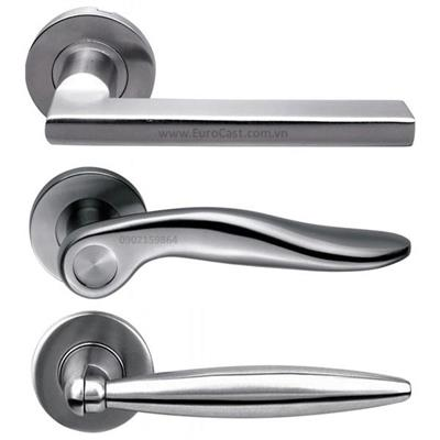 Investment casting of stainless steel door handles