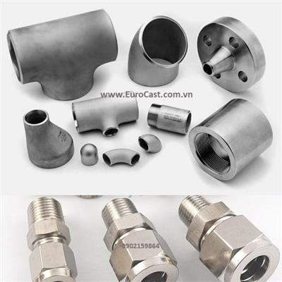Investment casting of stainless steel pipe fitting parts