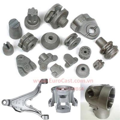 Investment casting of mechanical machine parts