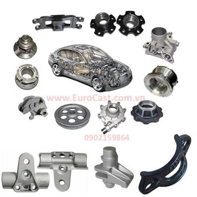 Investment casting of automotive components